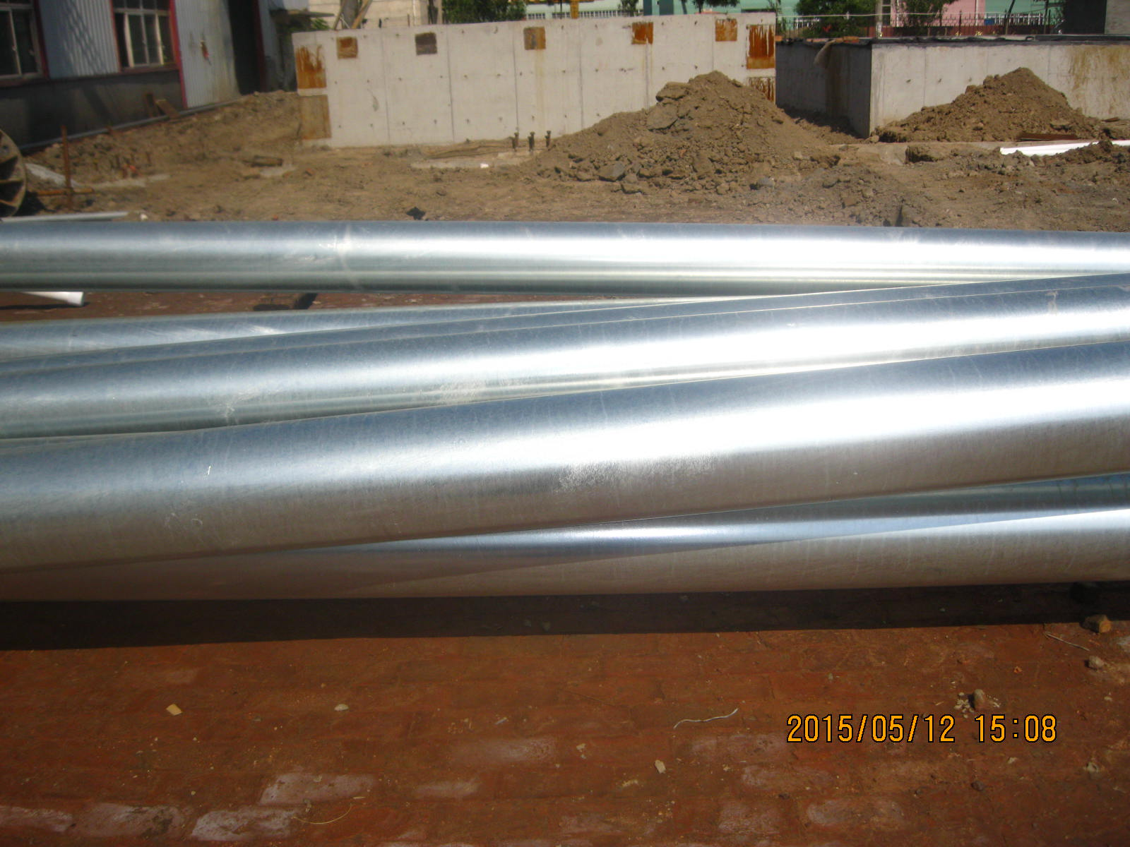 Hot-dipped galvanized ERW and Seamless steel pipes