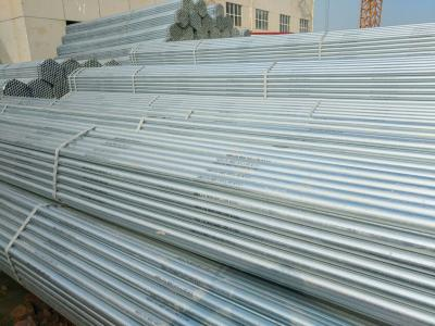 Hot dipped galvanized ERW and Seamless steel pipes