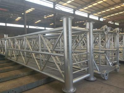 Hot-dipped galvanized steel structures